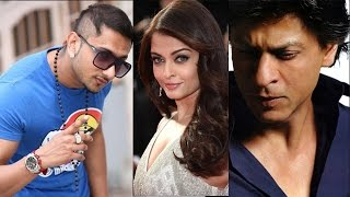 Bollywood News in 1 minute - Shahrukh Khan, Yo Yo Honey Singh, Aishwarya Rai Bachchan
