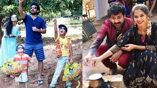 Actor Siva Balaji Family Sankrathi Celebrations At Farm House Photos | Sankranthi Celebrations - RAJSHRITELUGU