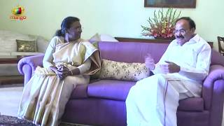 Jharkhand Governor Draupadi Murmu meets Vice President Venkaiah Naidu | Mango News - MANGONEWS