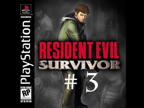 Resident Evil Survivor (PS1) Walkthrough part 3.