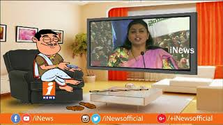 Dada Hilarious Talk With YSRCP MLA Roja Over Her Comments on Chandrababu and TDP | Pin Counter - INEWS