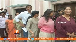 Rana And Jagapathi Babu Casts Their Votes | Telangana Assembly Polling 2018 | iNews - INEWS