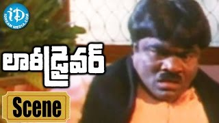 Lorry Driver Movie Scenes - Jagga Rao Plans To Kill Babu Mohan || Balakrishna || Vijayashanti - IDREAMMOVIES