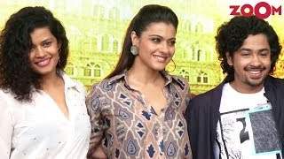 'Helicopter Eela' Stars Kajol & Riddhi Sen At College Fest In Mumbai - ZOOMDEKHO