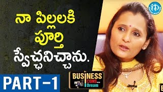 Director Of Hamstech Institute Of Fashion Ajitha Reddy Interview-Part #1| Business Icons With iDream - IDREAMMOVIES