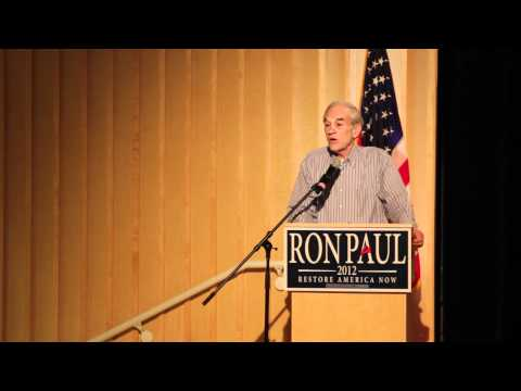 Ron Paul Speech in Moscow, Idaho | February 2012