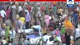 BJP chief Amit Shah participates in 'Chhath' function l Festival grips devotees across the country - ABPNEWSTV
