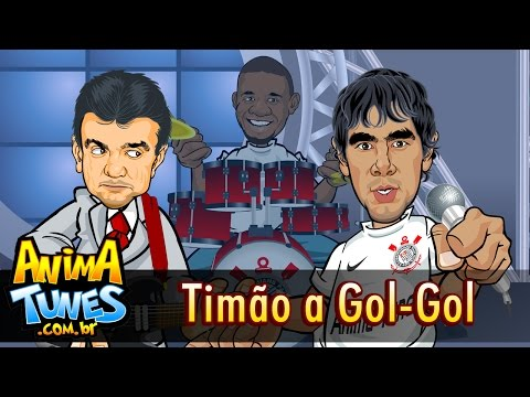 Charge da Band - Timão a gol-gol - Animatunes