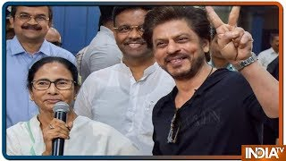 WB Chief Minister Mamta Banerjee Wishes Shah Rukh Khan All The Best For IPL 2019 - INDIATV