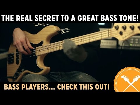 The Real Secret to a Great Bass Tone!