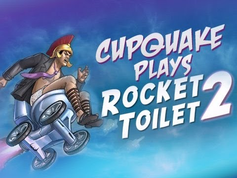 Rocket Toilet - Flash Friday