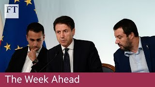 Italy's budget, German GDP data, easyJet's full-year results - FINANCIALTIMESVIDEOS