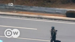 North Korean soldier defects to the South, survives   DW English - DEUTSCHEWELLEENGLISH