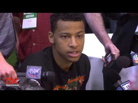 Trey Burke Draft Combine Interview