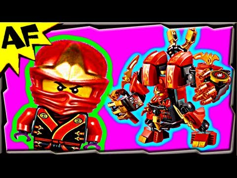 Lego Ninjago KAI's FIRE MECH 70500 Animated Building Review