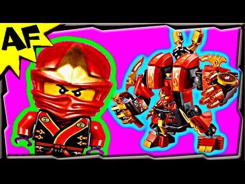 Lego Ninjago KAI's FIRE MECH 70500 Animated Building Review