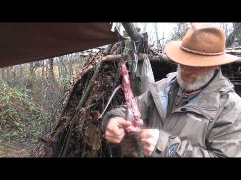 Modern Trapping Series Part 44 Skinning a Mink