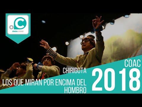 La agrupación Los que miran por encima del hombro llega al COAC 2018 en la modalidad de Chirigotas. Primera actuación de la agrupación para esta modalidad.