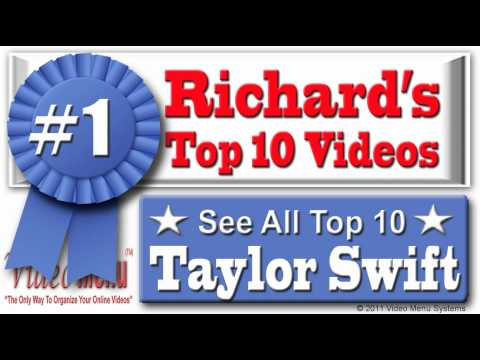 Taylor Swift - You Belong With Me #1 on Richard's Top 10 Taylor Swift Music Videos - Watch All 10