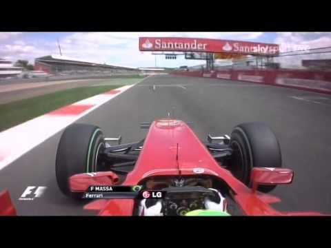 Felipe Massa Onboard Silverstone 2010 [HD]