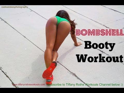 Pompis bomba y Bonitas!!. Tonifica y levanta tus glúteos con Tiffany Rothe.