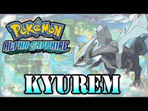 Caçando Lendários [Pokémon Alpha Sapphire] - Kyurem