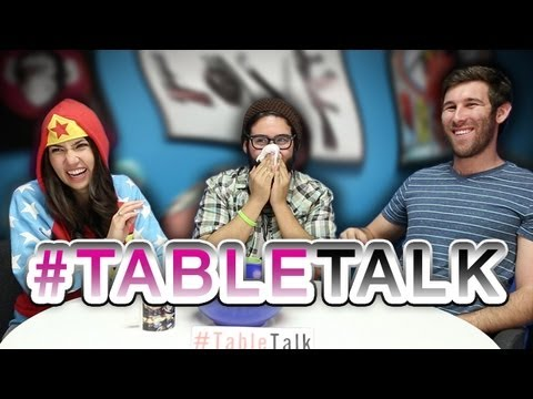 Weirdest #TableTalk Ever?!