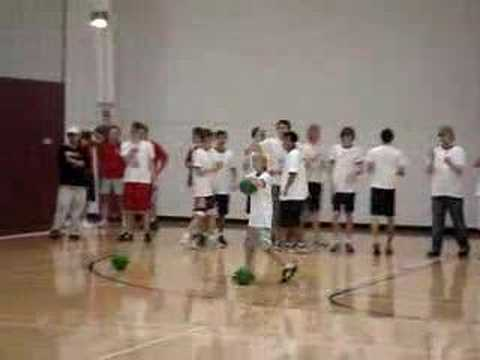 DODGEBALL little kid almost pulls off the IMPOSSIBLE