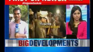 After 4 hours of search operations at Poes Garden, I-T to interrogate VK Sasikala anytime - NEWSXLIVE