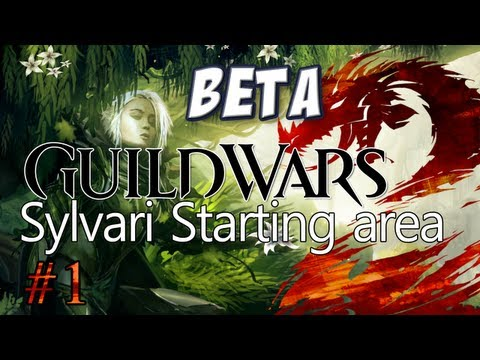 Guild Wars 2: Sylvari Character Creation &amp; Starting Area
