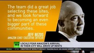 Friendly neighbourhood billionaire: Amazon's new HQ meets public backlash - RUSSIATODAY