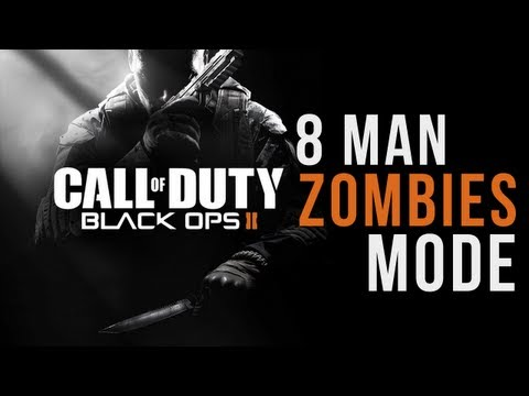 "Black Ops 2: ""Zombies 8 Player Team Mode"" & New Image (Call of Duty BO2 2012)"