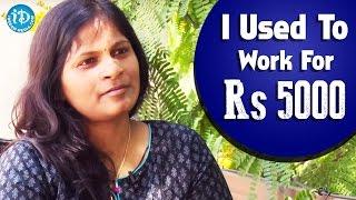 I Used To Work For Rs 5000 - Sasi Kiran Narayana || Talking Movies With iDream - IDREAMMOVIES