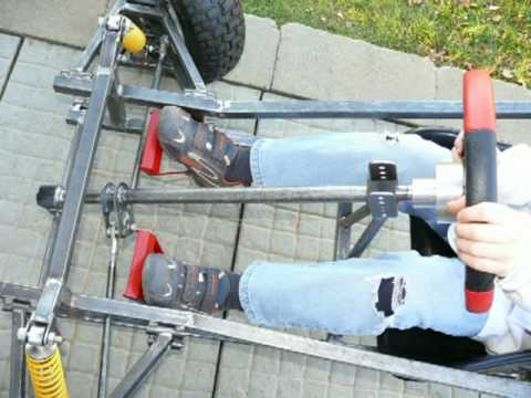 Homemade Off Road Go Kart - Son and Dad project (Videos & Pictures)