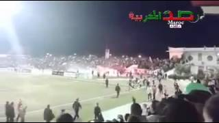 بالفيديو..جماهير «التطوان» المغربي تهتف لمرسي أثناء مباراة فريقهم مع الأهلي