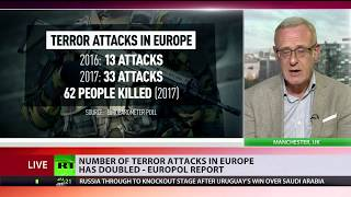 Number of terrorist attacks in Europe has doubled – Europol report - RUSSIATODAY