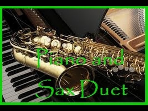 Piano and Sax Duet