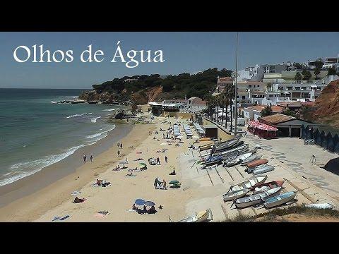 ALGARVE: Olhos de Água beach (Portugal) HD