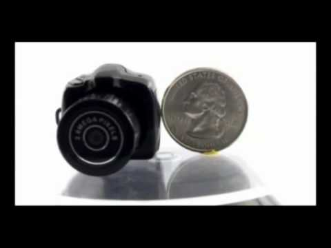 Smallest Digital Camera Video Review
