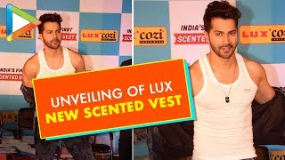 UNVEILING OF LUX NEW INNOVATIVE PRODUCT BY OF VARUN DHAWAN VIS - HUNGAMA
