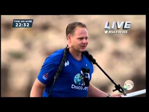 Spacer Nika Wallendy nad Wielkim Kanionem oglądały miliony widzów.