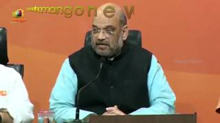 Bihar Governor Ramnath Kovind will be the NDA candidate for the President Election: Amit Shah - MANGONEWS