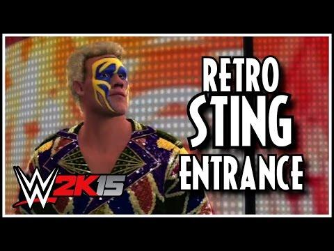 WWE 2K15 - Surfer Sting Entrance! (Pre-Order DLC)