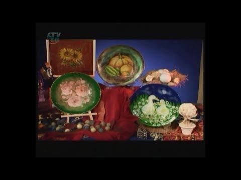 Мастер класс художественный декупаж тарелок.