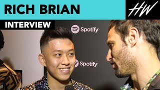 Rich Brian Reveals His Music Inspirations Are Kendrick Lamar, Drake & J. Cole! | Hollywire - HOLLYWIRETV