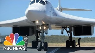 Nuclear-Capable Russian Bombers Arrive In Venezuela | NBC News - NBCNEWS