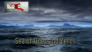 Royalty FreeBackground:Sea of Ones and Zeros