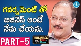 Color Chips MD Sudhish Rambhotla Exclusive Interview Part #5 || Business Icons With iDream #6 - IDREAMMOVIES
