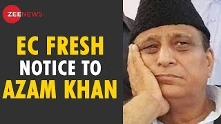 Breaking News: Fresh EC notice to Azam Khan for his Objectionable remarks - ZEENEWS