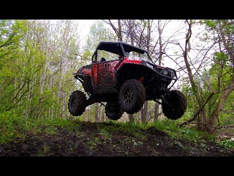 Technical SxS Trail Riding - Can-Am Maverick Max + Polaris RZR XP1000, RZR4 900, XP1K